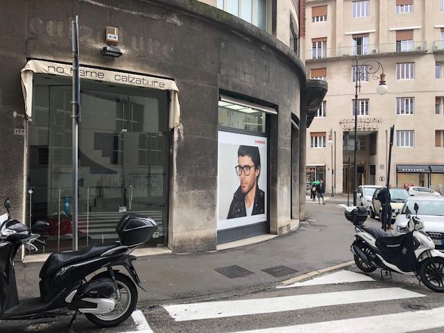 Foro commerciale in Largo Riborgo – Corso Italia